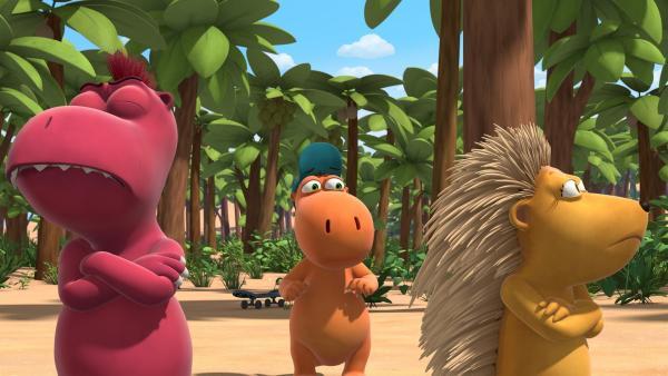 Matilda und Oskar haben sich gestritten. So sehr, dass sie sich die Freundschaft kündigen. | Rechte: ZDF/Caligari Film