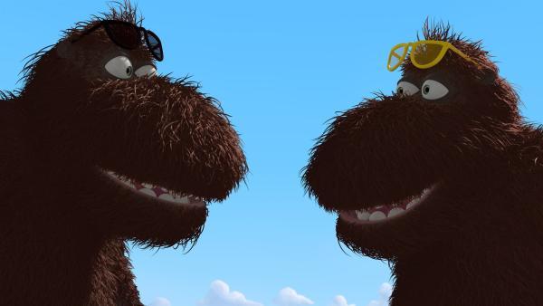 Balduin und sein Bruder Frederik sehen sich zum Verwechseln ähnlich. | Rechte: ZDF/Caligari Film
