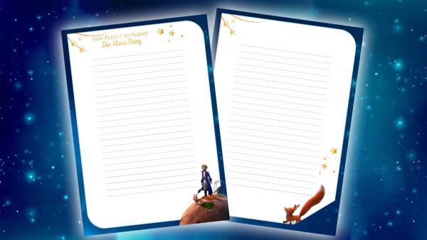 Briefpapier   Rechte: KiKA