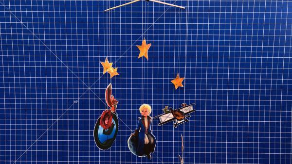 Planeten-Mobile aus der Serie Der kleine Prinz | Rechte: KiKA