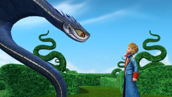 Das große Duell: gelingt es dem kleinen Prinzen dieses Mal, die Schlange zu besiegen? | Rechte: WDR/ARD