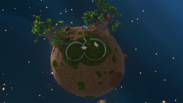 Ohne den kleinen Prinzen wachsen Fuchs und Rose die Baobab-Bäume auf ihrem Asteroiden bald über den Kopf. | Rechte: WDR/Method Animation/Saint-Exupéry-d'Agay Estate/LPPTV/France Télévisions