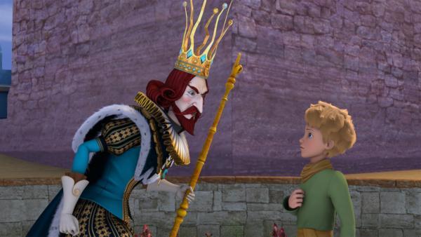 Der König herrscht über das Volk der Rosen – aber sind es auch die richtigen? | Rechte: WDR/Method Animation/Saint-Exupéry-d'Agay Estate/LPPTV/France Télévisions