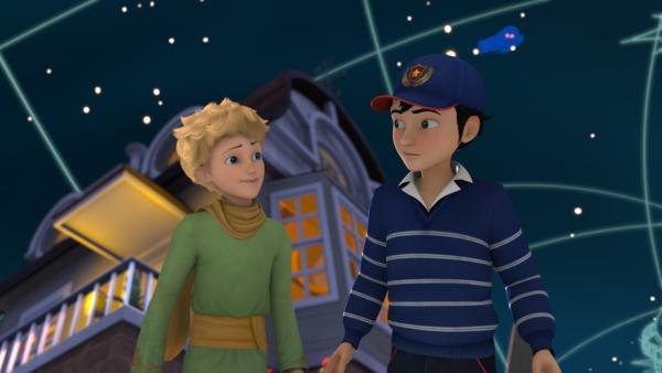 In Luis findet der kleine Prinz einen neuen Begleiter. | Rechte: WDR/Method Animation/Saint-Exupéry-d'Agay Estate/LPPTV/France Télévisions