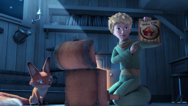 Der kleine Prinz und Fuchs finden einen Hinweis, wo sich Samir aufhalten könnte. | Rechte: WDR/ARD