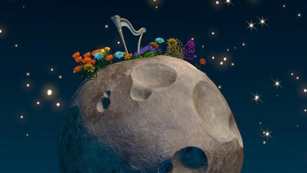 Auf seiner Reise durch die Galaxie, entdeckt der kleine Prinz einen Planeten. Als er auf dem Planet der Musik ankommt sieht er, dass das Leben der Bewohner vollständig aus dem Takt geraten ist.   Rechte: WDR/ARD