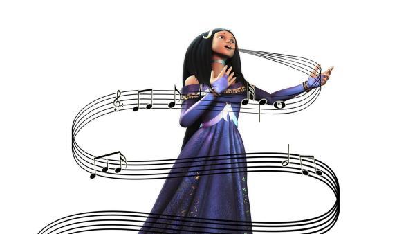 Die Diva Aria hält mit Ihrem Gesang das Leben auf dem Planeten der Musik in Fluss. Ihre verbotene Liebe zu Florian, einem Floraner, veranlasst sie falsch oder gar nicht zu singen. Dadurch gerät das Leben der Musikaner völlig aus dem Takt...   Rechte: WDR/ARD
