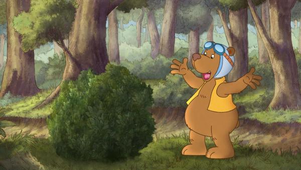 Eddi kann es kaum glauben – ein Busch, der spricht! | Rechte: SWR/NDR/Akkord Film