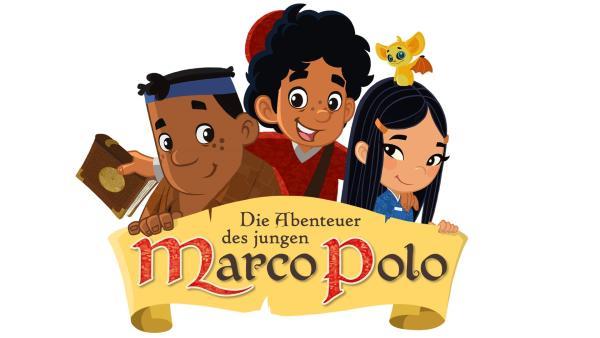 Begleitet von seinem starken, gutmütigen Freund Luigi (li.) und der mysteriösen Prinzessin Shi La Won (re.) ist der ungestüme Marco bereit, sich in ein wildes Abenteuer durch ferne Länder und geheimnisvolle Zeiten zu stürzen, um seinen Vater zu finden… | Rechte: MDR/MotionWorks, Marco Polo Prod. Inc., Melusine Prod., Magpie 6 Media Ent. Ltd./Monster Ent. Ltd.