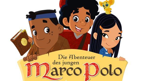 Begleitet von seinem starken, gutmütigen Freund Luigi und der mysteriösen Prinzessin Shi La Won ist der ungestüme Marco bereit, sich in ein wildes Abenteuer durch ferne Länder und geheimnisvolle Zeiten zu stürzen, um seinen Vater zu finden… | Rechte: MDR/MotionWorks, Marco Polo Prod. Inc., Melusine Prod., Magpie 6 Media Ent. Ltd./Monster Ent. Ltd.