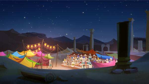 Das Lager der Sarazenen | Rechte: MDR/MotionWorks/Marco Polo Prod.Inc./Melusine Prod./Magpie 6 Media Ent.Ltd./Monster Ent.Ltd.