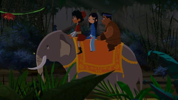 Marco, Shila und Luigi sind auf dem Weg durch Indien. | Rechte: MDR/2013 MotionWorks, Marco Polo