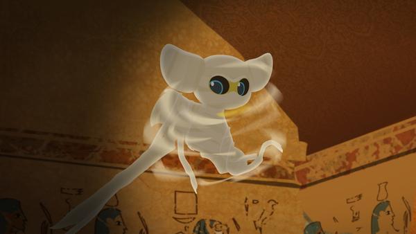 FuFu als Mumie | Rechte: MDR/MotionWorks
