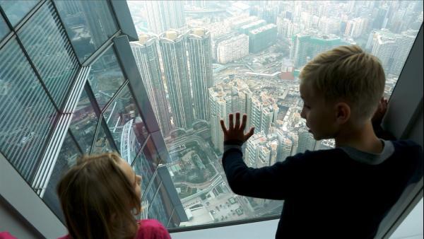 Über den Dächern von Hongkong | Rechte: SWR/Tellux Film