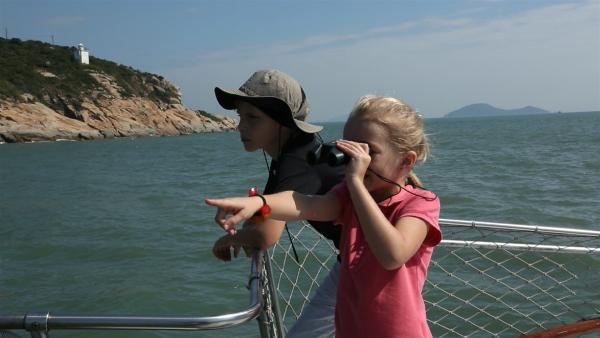 Ausschau nach den rosa Delfinen | Rechte: SWR/Tellux Film