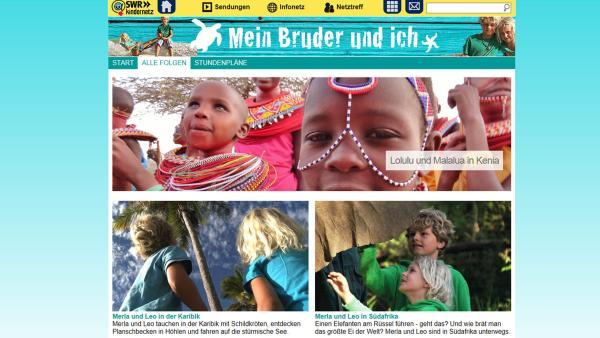 Screenshot SWR Kindernetz | Rechte: SWR