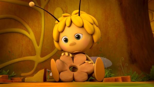 Die Wabe der kleinen Biene Maja sieht irgendwie anders aus. | Rechte: ZDF/Studio100 Animation
