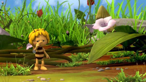 Alleine kann Maja die Ernte nicht einfahren. | Rechte: ZDF/Studio100 Animation