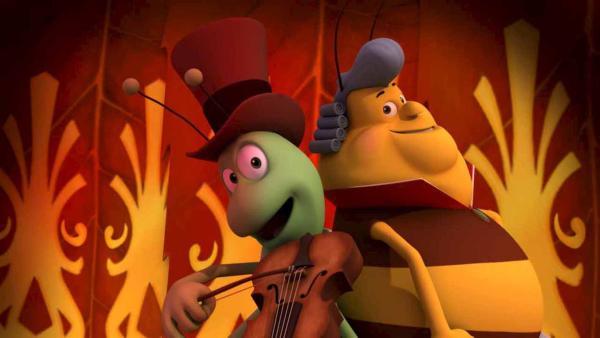 Flip und Elvis sind ein tolles Duo. | Rechte: ZDF/Studio100 Animation
