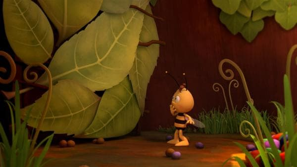 Willi hat Richter Bienenwachs ins Pollelager gesperrt.   Rechte: ZDF/Studio100 Animation