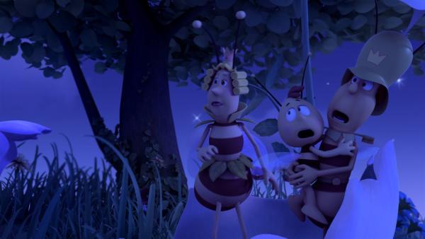 Ob die Königin sicher nach Hause kommt? | Rechte: ZDF/Studio100 Animation
