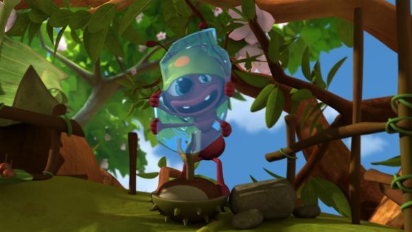 Archibald ist ein verrückter Erfinder. | Rechte: ZDF/Studio100 Animation