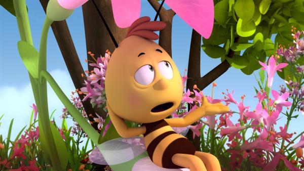 Willi hat einen vollen Magen. | Rechte: ZDF/Studio100 Animation
