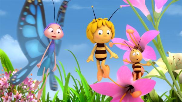 Willis Pups kommt bei seinen Freunden nicht gut an. | Rechte: ZDF/Studio100 Animation