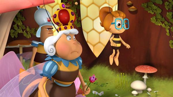 Clara, die kleine Nichte der Königin, ist zu Besuch.   Rechte: ZDF/2017/Studio 100 Animatio