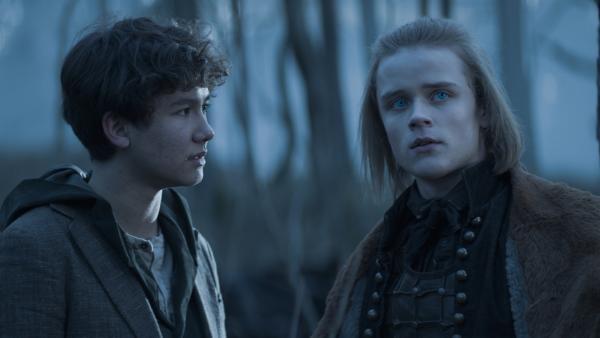 Nicu (Lance West) und Lars (Ulrik William Græsli) müssen Dracula aufhalten. | Rechte: NDR/Lemming Film