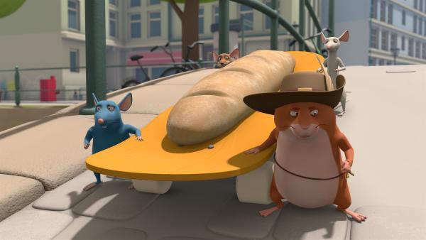 Die Muskeltiere sorgen für ein Festmahl. | Rechte: ZDF/2021 Caligari Film