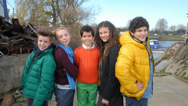 v.l.n.r. Niklas, Jessi, Luis, Ceyda und Anton | Rechte: NDR/Romano Ruhnau
