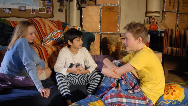 Luis, Jessi und Max | Rechte: NDR/Romano Ruhnau