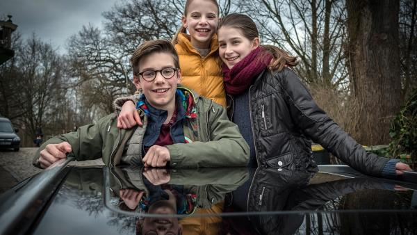 Benny, Alice und Mia nehmen Abschied von Hamburg. | Rechte: NDR/Boris Laewen