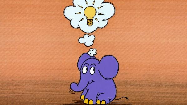 Der kleine blaue Elefant. | Rechte: WDR/Streich