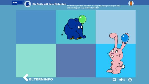 Die Sendung mit dem Elefanten auf wdr.de | Rechte: KiKA