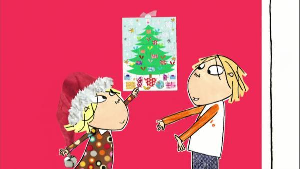 Charlie und Lola zeigen, wie die Kinder in England die Weihnachtszeit verbringen. | Rechte: WDR