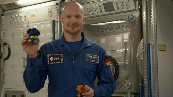 Astronaut Alexander Gerst war fast 200 Tage im Weltraum und hat von dort exklusiv für die Elefanten-Fans berichtet.   Rechte: WDR