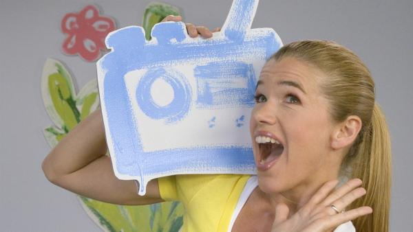 "Anke Engelke in der ""Sendung mit dem Elefanten""  | Rechte: WDR/Simin Kianmehr"