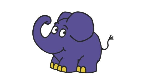 Der kleine blaue Elefant | Rechte: WDR/Trickstudio Lutterbeck