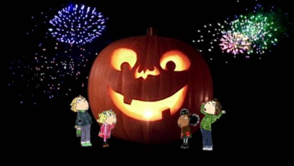 Charlie und Lola feiern Halloween zusammen mit ihren Freunden. | Rechte: WDR/Die Sendung mit dem Elefanten