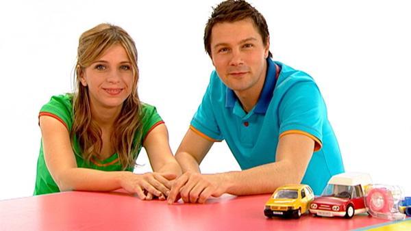 Tanja und André bauen ein Auto mit Ballonantrieb, das blitzschnell fahren kann. | Rechte: WDR