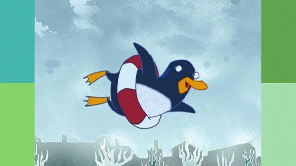 Jasper der Pinguin besucht die Ballettschule, um dort fliegen zu lernen. | Rechte: WDR
