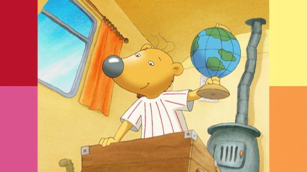 Lenny und Twiek wollen sich mitten durch die Erde buddeln - wo sie wohl herauskommen? | Rechte: WDR