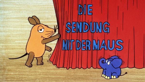 Die Maus und ihr Freund , der kleine blaue Elefant | Rechte: WDR