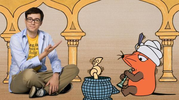 Ralph Caspers hat sich mit dem Maus-Team nach Indien aufgemacht und lernt ein Land kennen, in dem vieles ganz anders ist als bei uns. | Rechte: WDR/Schmitt-Mentzel/Streich/Johannes Haas (M, D. Thol)