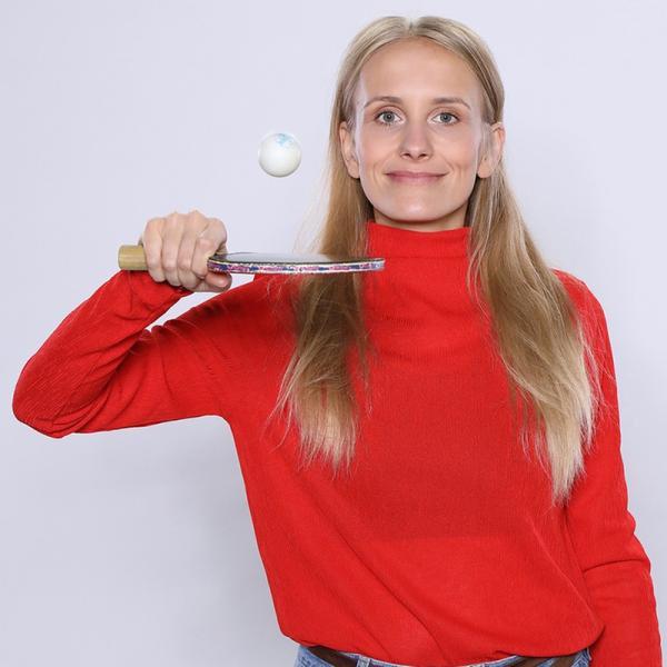 """Susanne Schlüter ist eine der drei Moderatoren von """"Die Sportmacher""""."""