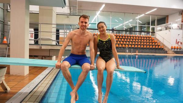 Folge 35: Wasserspringen, Sporträtsel und Fußball mal anders | Rechte: ZDF