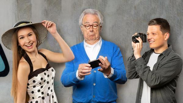 Kassy, Hubert und Patrick | Rechte: ZDF