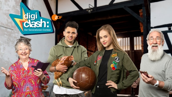 Digiclash: Der Generationen-Contest | Rechte: ZDF
